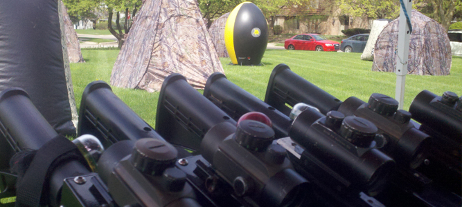 This is a whole new generation of outdoor laser tag.